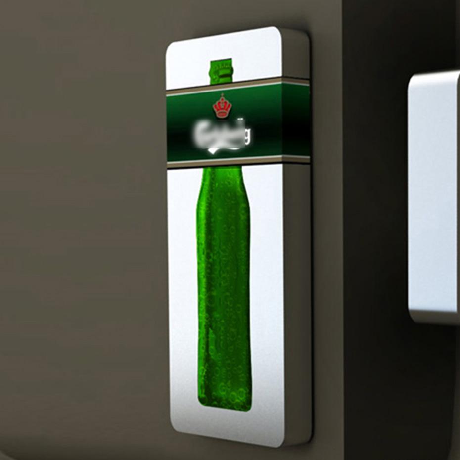 LED发光酒水展示架