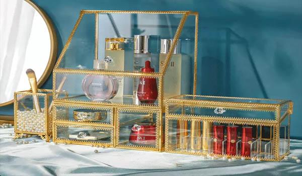 化妆品收纳盒,让您的梳妆台不再乱糟糟