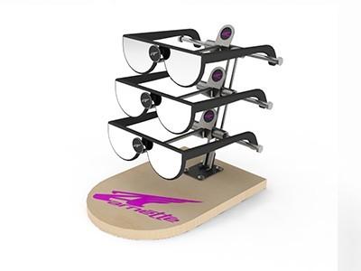 亚克力桌面眼镜展示架