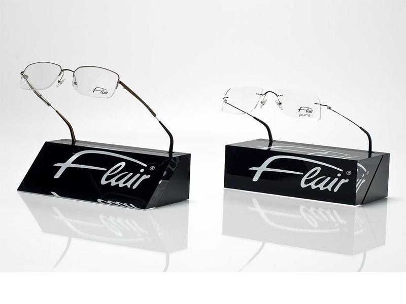 台式眼镜展示架