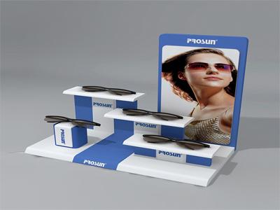 亚克力眼镜品牌展示台