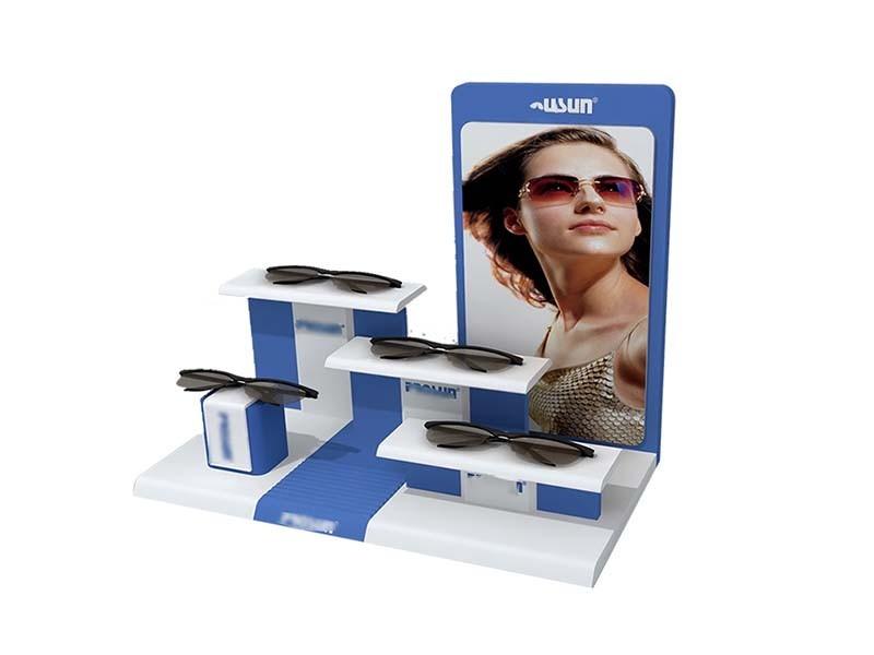桌面组合眼镜展示台