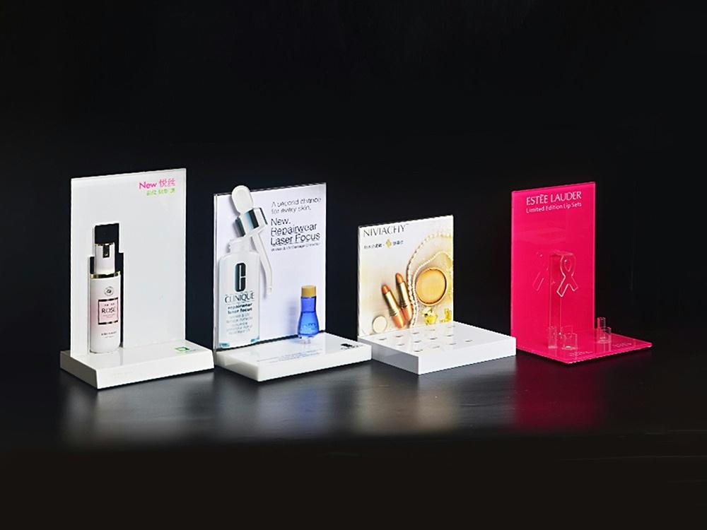 化妆品展示台