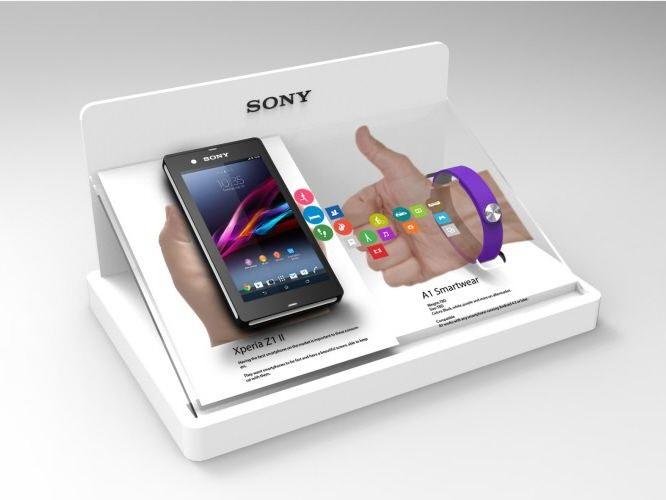 桌面手机展示架