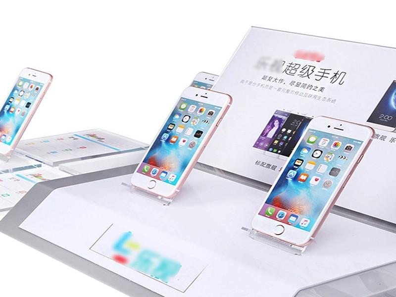 亚克力手机品牌系列展示架
