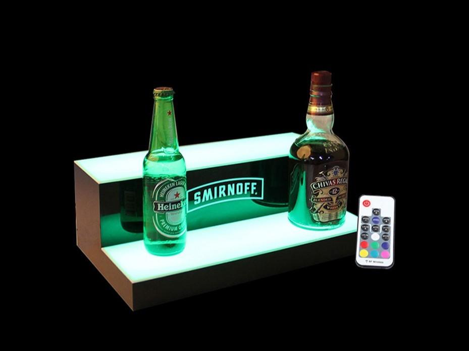 遥控亚克力酒瓶展示台