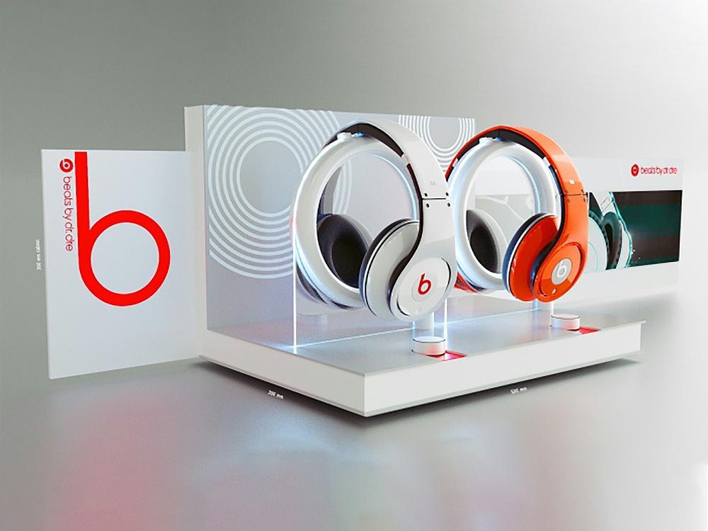 耳机展示架