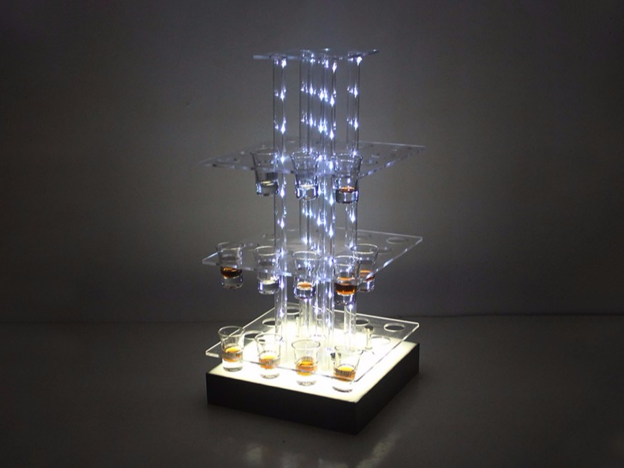 酒吧LED子弹杯架