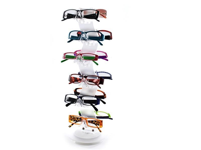 单面立式眼镜展示架